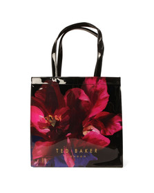 Ted Baker Womens Black Amycon Impressionist Bloom Large Icon Bag