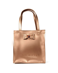 Ted Baker Womens Pink Bow Detail Small Icon Bag