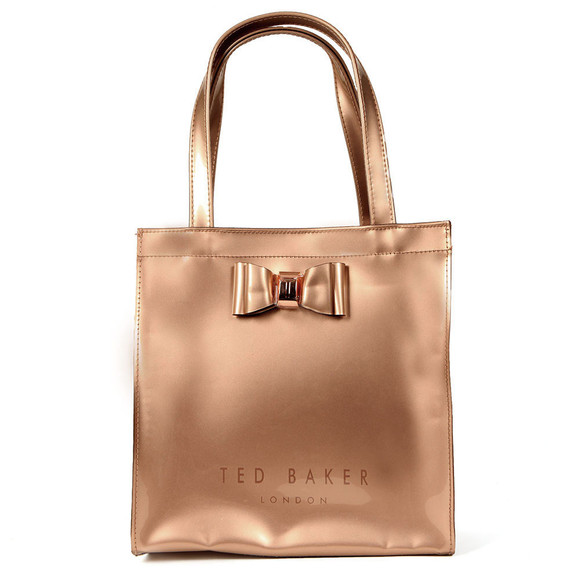 Ted Baker Womens Pink Jenacon Bow Detail Small Icon Bag main image
