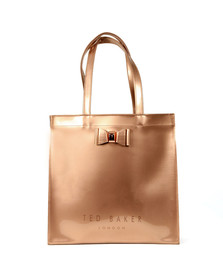 Ted Baker Womens Pink Bow Detail Large Icon Bag
