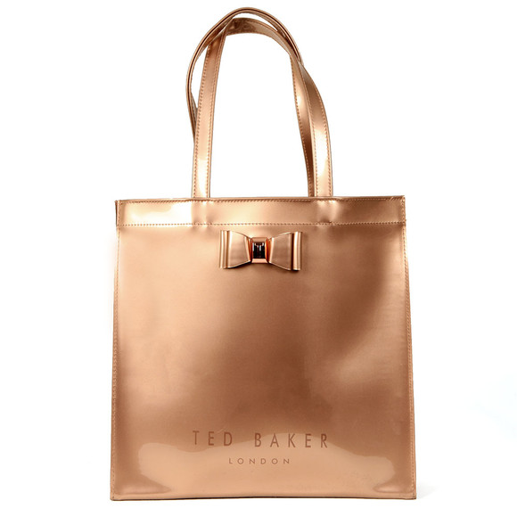 Ted Baker Womens Pink Bethcon Bow Detail Large Icon Bag main image