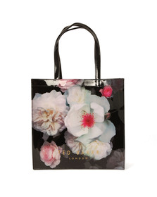 Ted Baker Womens Black Taracon Chelsea Print Large Icon Bag