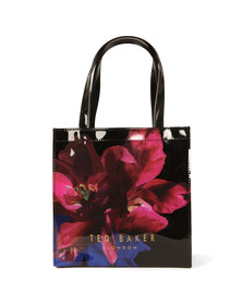 Ted Baker Womens Black Impressionist Bloom Small Icon Bag