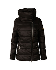 Barbour International Womens Black Rockingham Quilt