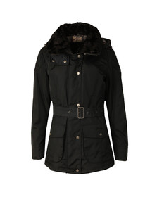 Barbour International Womens Blue Outlaw Jacket