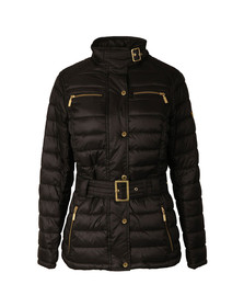 Barbour International Womens Black Cadwell Quilt Jacket