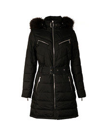 Barbour International Womens Black Modello Quilt Jacket
