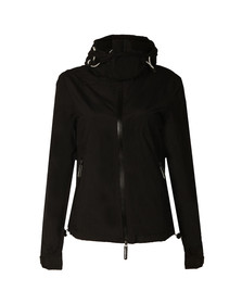 Superdry Womens Black Arctic Hooded Cliff Hiker