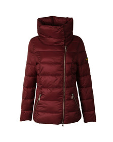 Barbour International Womens Red Rockingham Quilt