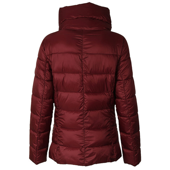 Barbour International Womens Red Rockingham Quilt  main image