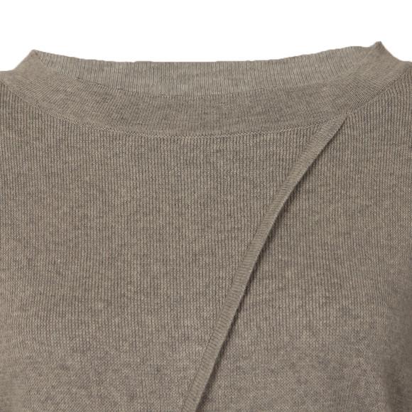 Barbour International Womens Grey Cadwell Knit main image