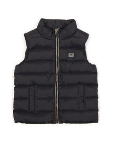 Armani Junior  Boys Blue Down Gilet