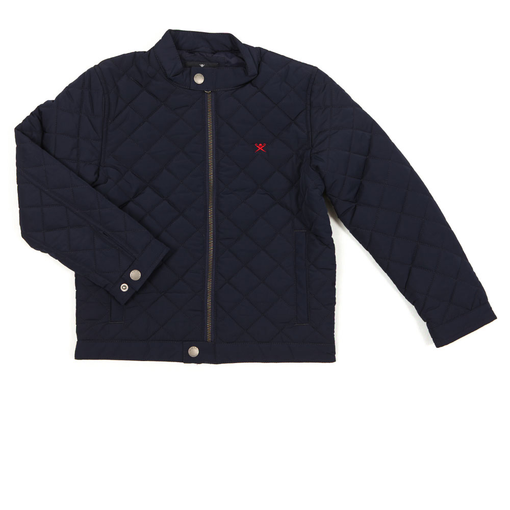 Classic Quilted Bomber Jacket main image