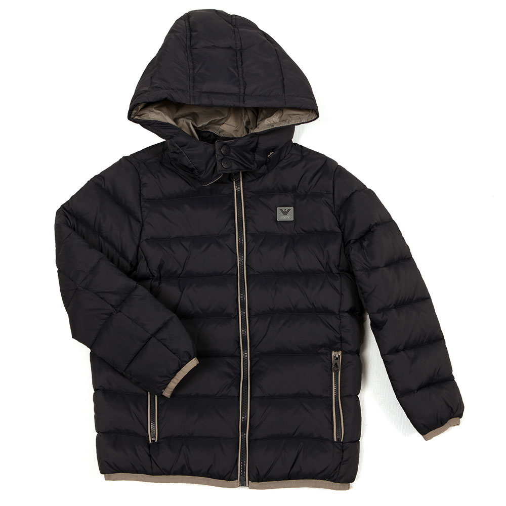 50a74c98 Armani Junior Boys Down Jacket | Oxygen Clothing