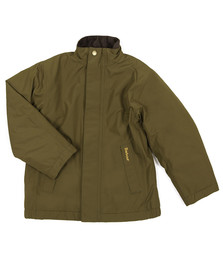 Barbour Lifestyle Boys Green Caldbeck Waterproof Jacket