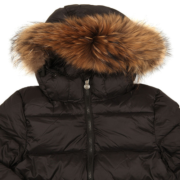 Pyrenex Boys Black Authentic Jacket With Fur main image