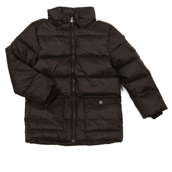 Pyrenex Boys Black Authentic Jacket With Fur main image