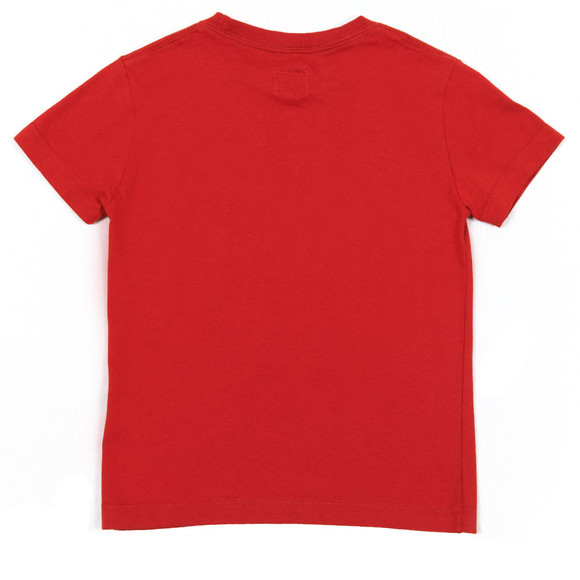 CP Company Undersixteen Boys Red Broken Lens T Shirt main image