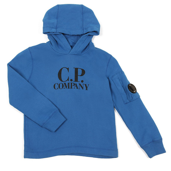CP Company Undersixteen Boys Blue Overhead Hoody main image