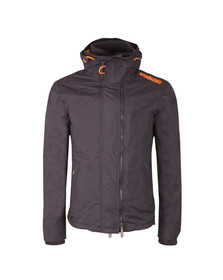 Superdry Mens Blue Pop Zip Hooded Arctic Windcheater