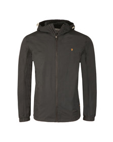 Farah Mens Black Newbern Hooded Jacket