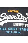 Superdry Mens Blue Sweat Shirt Store Tri Hood