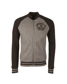 Superdry Mens Black Applique Sweat Bomber