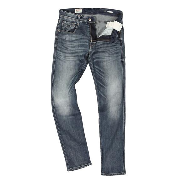 Replay Mens Blue Anbass Slim Jean main image