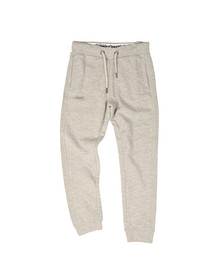 Superdry Mens Grey Orange Label Moody Slim Jogger