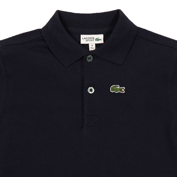 Lacoste Sport Boys Blue Boys L1830 Polo Shirt