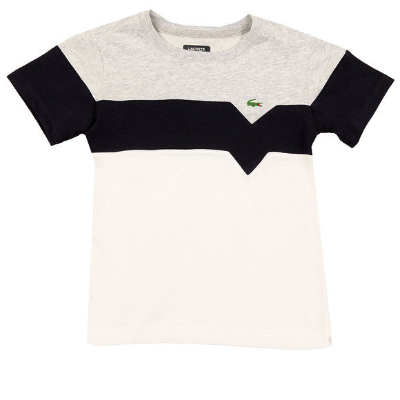 Lacoste Sport Boys White Boys TJ8818 Panel T Shirt main image