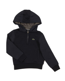 Lacoste Sport Boys Blue Boys SJ8839 Nylon Hood Sweat