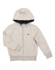 Lacoste Sport Boys Grey SJ2903 Hoody