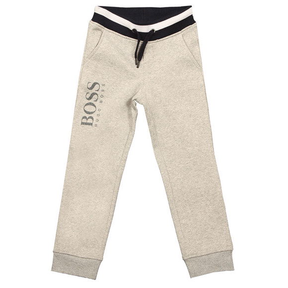 BOSS Bodywear Boys Grey J24437 Sweatpants main image