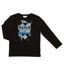 Boss Boys Black Boys J25B21 Long Sleeve T Shirt