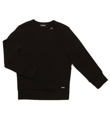 Diesel Boys Black Sitro Sweat