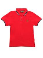 Plain Tipped Polo Shirt