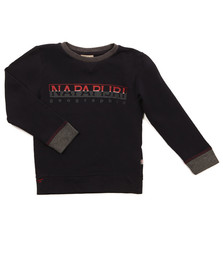 Napapijri Boys Blue Boys Boyster Crew sweat
