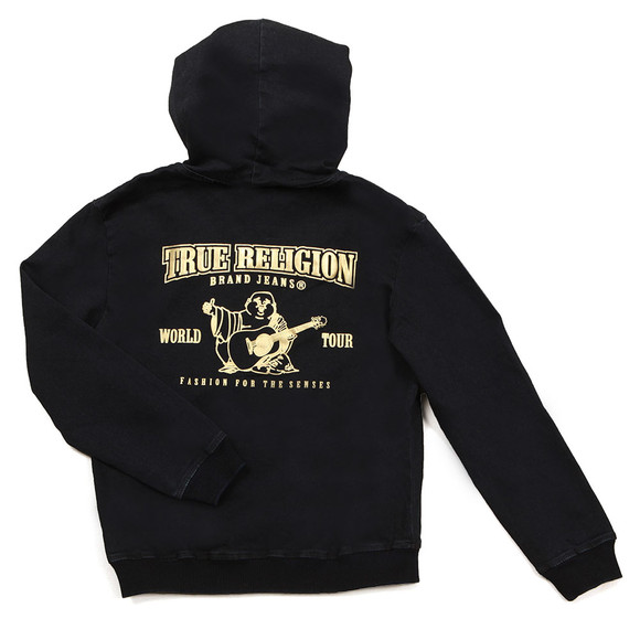 True Religion Boys Blue FT Zip Hoody main image
