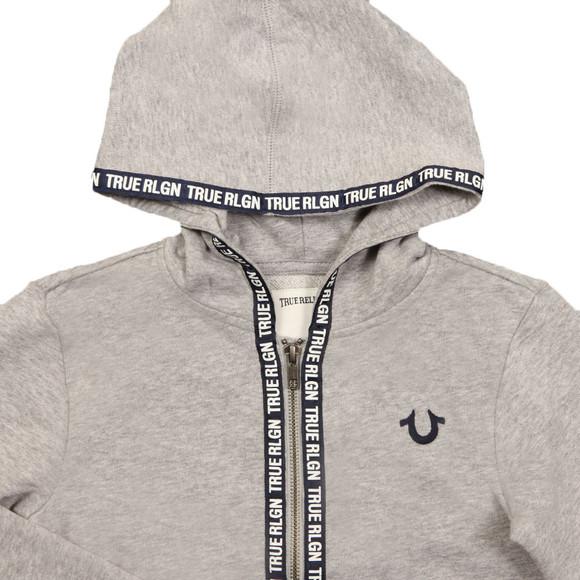True Religion Boys Grey TR Tape Hoody main image