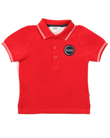 Boss Boys Red Baby J05604 Polo Shirt
