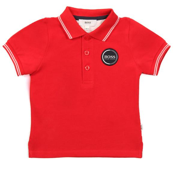 Boss Boys Red Baby J05604 Polo Shirt main image