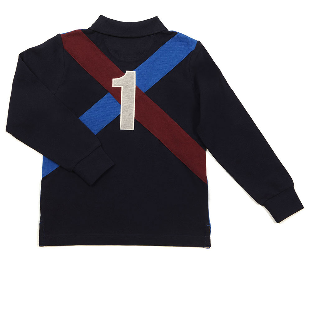 Long Sleeve Cross Polo Shirt main image