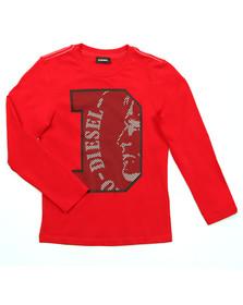 Diesel Boys Red Boys Turik T Shirt