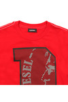 Diesel Boys Red Boys Turik T Shirt