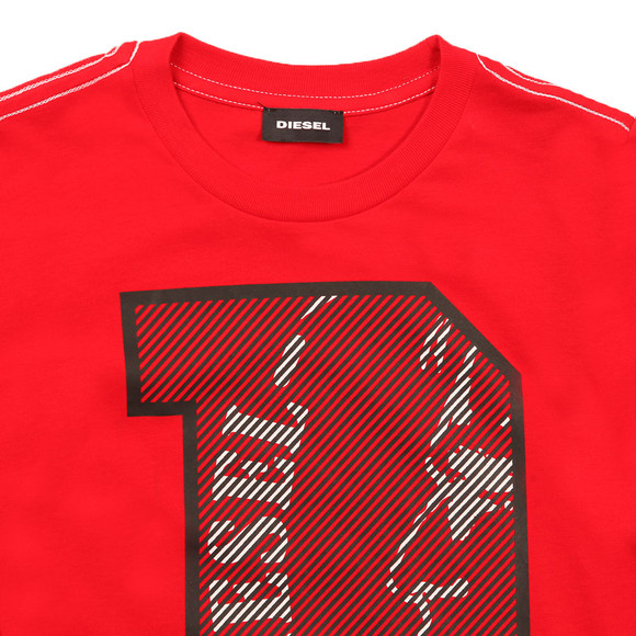 Diesel Boys Red Boys Turik T Shirt main image