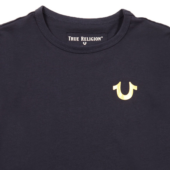 True Religion Boys Blue Hi Low T Shirt