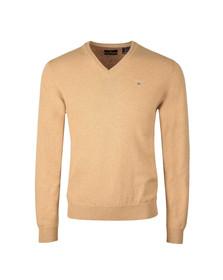 Gant Mens Beige V-Neck jumper