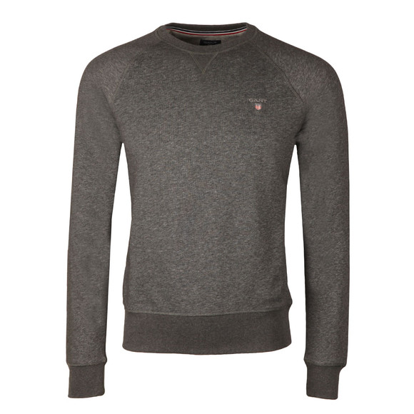 Gant Mens Grey Original Crew Sweat main image