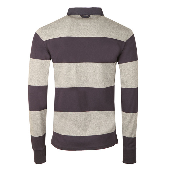 Gant Mens Grey Barstripe Heavy Rugger main image